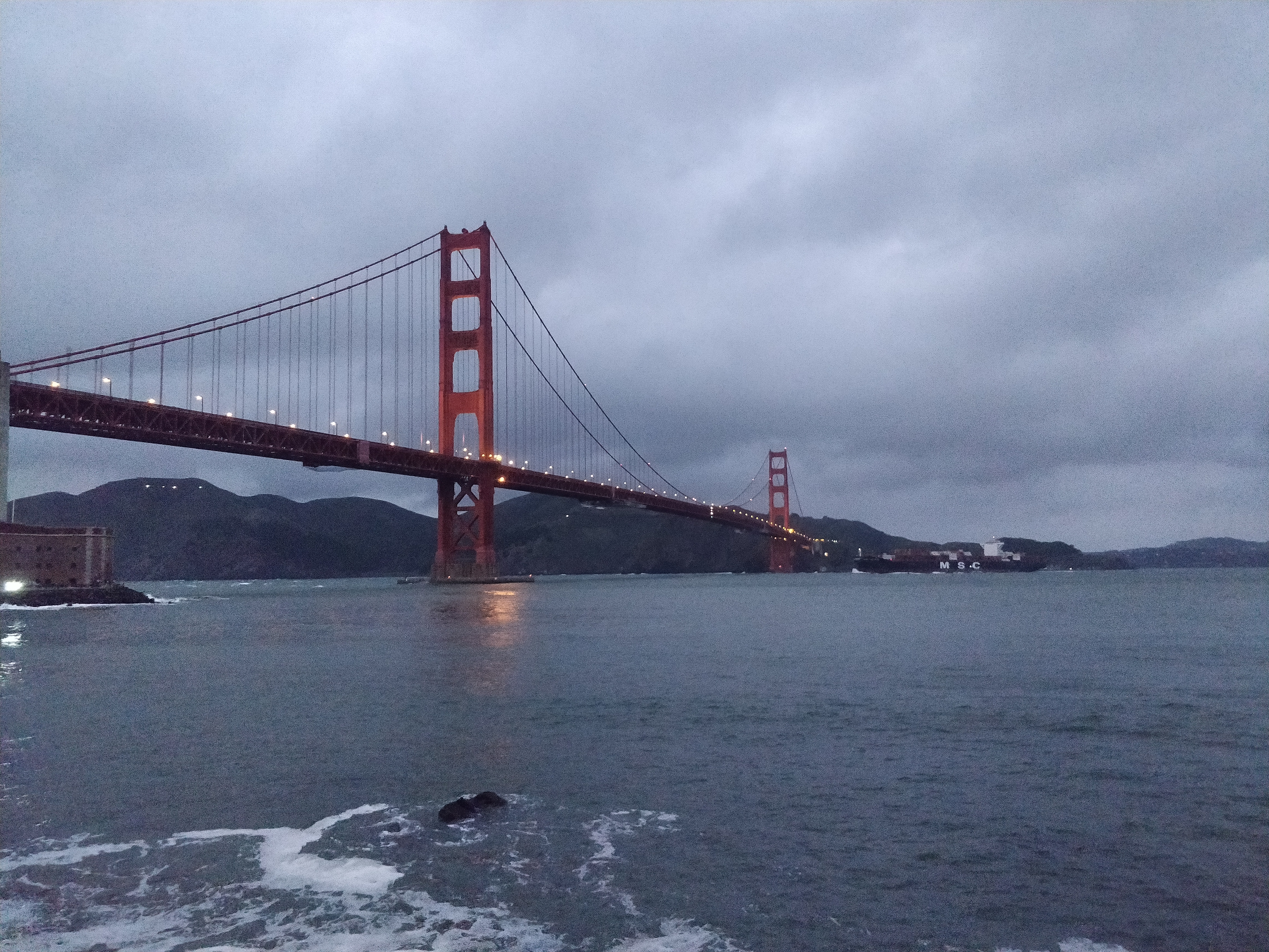 Cliche picture of the golden gate bridge